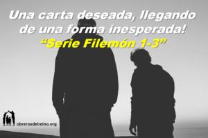 Una carta deseada, llegando en una forma inesperada! – Serie Filemon 1-3
